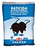 IMPEX EUROPA HALPER Pasta húmeda BF-70, Cebo Fresco para Control de Ratas y Ratones - Cebos 10 gr