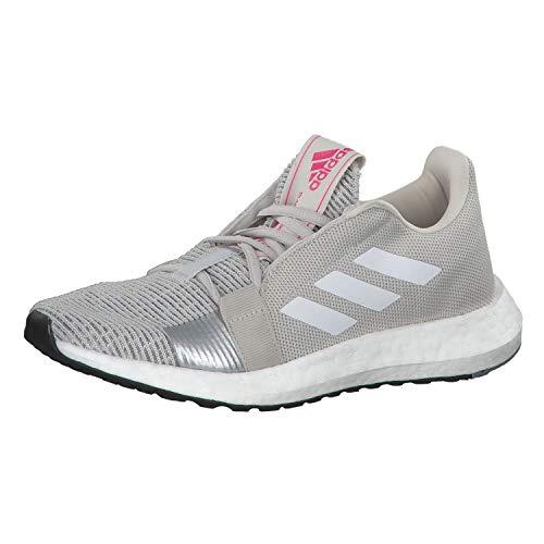 Adidas SenseBOOST GO w, Zapatillas de Trail Running para Mujer, Multicolor (Griuno/Ftwbla/Rossho 000), 41 1/3 EU