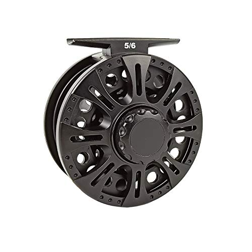 Aventik Z Fly Reel Center Drag System Classic III Graphite Large Arbor Sizes 3/4, 5/6, 7/8 Fly...