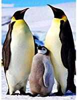 DIY 5Dダイヤモンドペインティングペンギンラージサイズフルキットダイヤモンドペインティングペンギンファミリースクエアストーン刺繍クロスダイヤモンドモザイク家の装飾