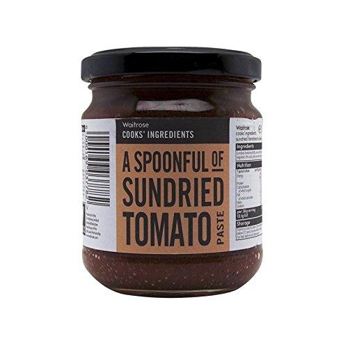 Ingredientes De Los Cocineros Pasta De Tomates Secos Waitrose 180G - Paquete de 2