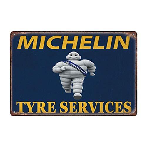 Cling Placa de Aceite de Motor, Carteles de Chapa de Metal Vintage, estación de Servicio de Garaje, Servicio de neumáticos Decorativos, póster de Arte de Pared Retro 3645