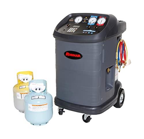 Robinair 17801B 220V-240V, 50 Hz Refrigerant Recovery, Recycle, Evacuate and Recharge Machine