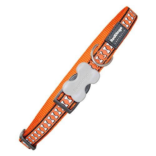 Red Dingo GmbH 9330725052819 Collar Perro, L, Naranja