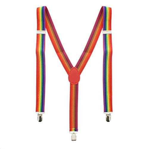 Zac's Alter Ego Bretelles Rainbow stripe Multicolore