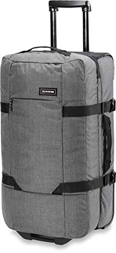 Dakine Split Roller EQ Travel Luggage, Trolley and Sports Bag with Wheels and Telescopic Handle, Carbon, 75 L
