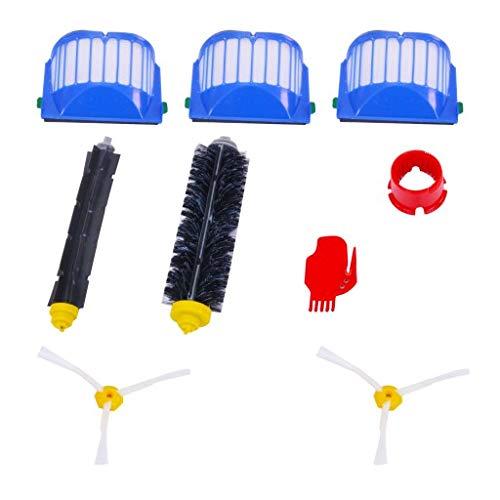 Kit d'accessoires pour aspirateur robotique IRobot Roomba série 600 | 604-696 | filtres, brosses, Outils de Nettoyage