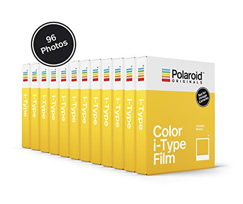 Polaroid Originals Color Film for I-Type - 12-Pack, 96 Photos (4965)