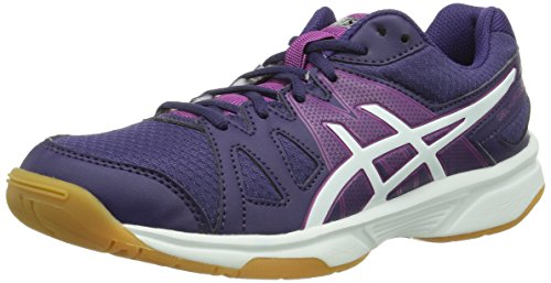 Asics GEL-UPCOURT, Damen Badmintonschuhe, Violett (PURPLE/WHITE/FUCHSIA 3301), 40.5 EU (8 Damen UK)