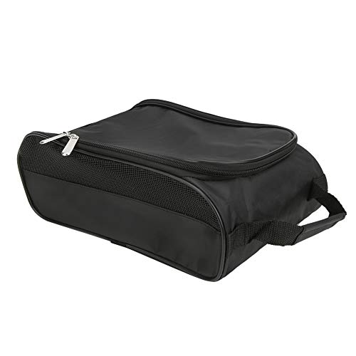 Yuehuam Golf Schuh Tasche Nylon Tragbare Atmungsaktive Große Kapazität Schuh Aufbewahrung Tasche Reißverschluss Sporttasche Schuhetui zum Tragen von Arbeitsschuh Sneaker High Heels