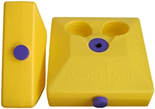 Poleish Sports Bottle Bash Multi Surface Bases for use with Standard Game Set (Pair)
