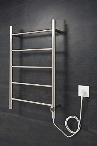 WarmeHaus Elektrischer Handtuchheizkörper, Badheizkörper 800x500 Chrom