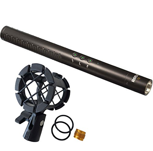 Rode NTG-4 Richtmikrofon + keepdrum PCMH1 Mikrofon-Halterung