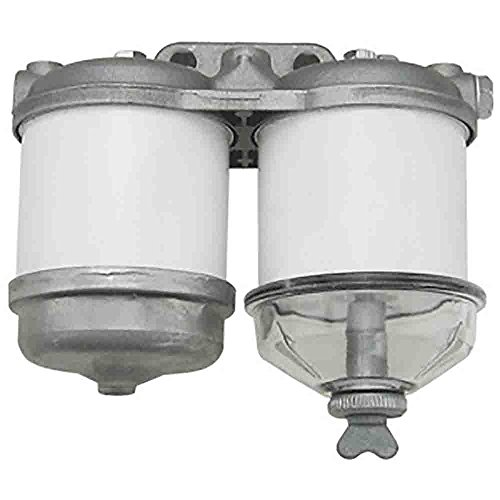 EBPN9N166AA New Ford Tractor Fuel Filter Assy, Dual for 2000, 3000, 4000, 5000+