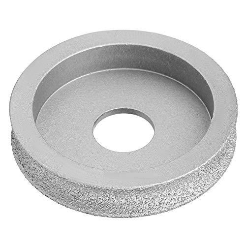7.3cm Grinding Disc Brazed Diamond Grinding Wheel Concave Abrasive Wheel Grinding Wheel for Stone Ceramic Glass(1.0cm)