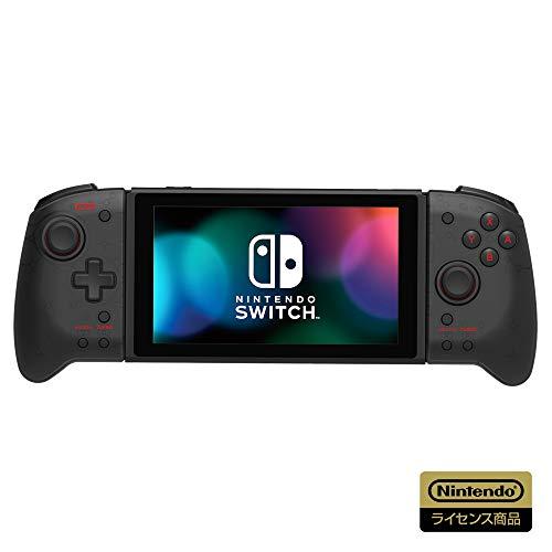 【任天堂ライセンス商品】グリップコントローラー for Nintendo Switch クリアブラック【Nintendo Switch対...