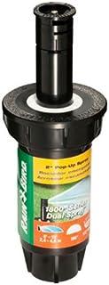"Rain Bird 1802QDS Professional Dual Spray Pop-Up Sprinkler, 90° Quarter Circle Pattern, 8' - 15' Spray Distance, 2"" Pop-up..."