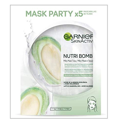 Garnier Skin Active Nutri Bomb Reparadora, Mascarilla Facial