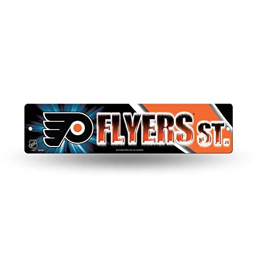 Rico HSN7401 Plastic Street Sign , Philadelphia Flyers