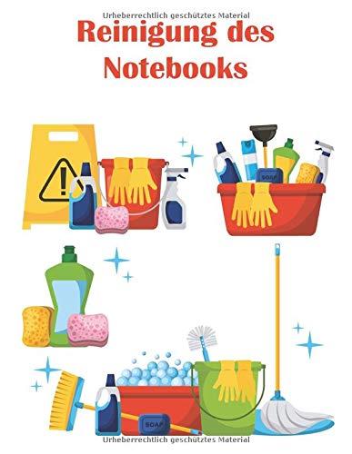 Reinigung des Notebooks: Das ideale Notebook für die Überwachung der Reinigung Ihrer Räumlichkeiten und Gebäude.