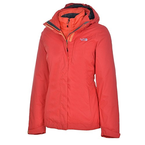 The North Face Alteo Triclimate damesjack - meloenrood