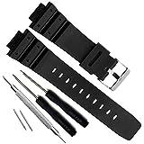 Bracelet de montre en polyuréthane de remplacement pour Casio Mens G-Shock DW-5900 DW-6100 DW-6695 DW-6900 G-6900 GW-M5610 DW-5600E GW-6900 (J1)