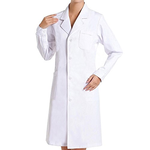 Bata Médico Laboratorio Farmacia Enfermera Trabajo