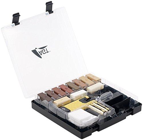 AGT Laminat Reparatur: Reparaturset WRS-11.plh für Parkett, Laminat und Holzoberflächen (Holzreparatur Set)
