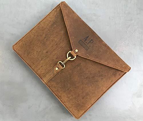 A.P. Donovan - Tasche für iPad Mini 2/3 / 4   Büffelleder   Ledertasche   iPadtasche   Tablettasche   Sleeve   Hülle   Case
