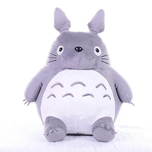 W-XY Totoro Plüschtier Grau 20-65cm Stofftier Kuscheltier Geschenk Für Paare/Kinder/Familie am Valentinstag,20cm