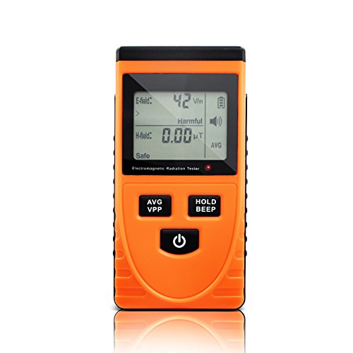 PerfectPrime MW3120 Electromagnetic Radiation Detector/Tester Electric: 1-1999V/m; Magnetic: 0.01-19.99μT
