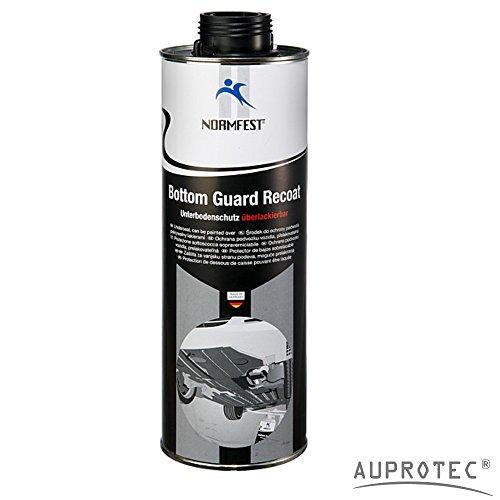 AUPROTEC Norme Lave-Vaisselle unterboden Protection überlackierbar Bottom Guard recoat 1 L Noir