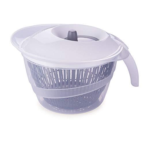 Secador De Salada Plasútil Branco 4 L