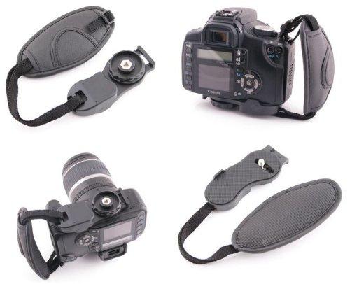Case4Life Handschlaufe Griff DSLR SLR Kameras, Bridgekameras für Canon EOS, Powershot, Exilim All EOS Modelle inc 500D, 600D, 650D, 700D, 1000D, 1100D