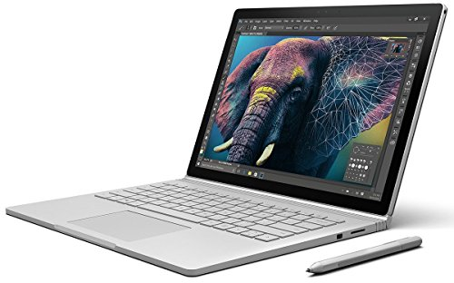 Microsoft Surface Book 34,29 cm (13,5 Zoll) Laptop (Intel Core i7 6. Generation, 8GB RAM, 256GB SSD, Intel HD + NVIDIA GeForce, Win10 Pro)