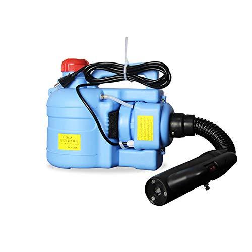 Farzeo 5L Mochila Eléctrico ULV Rociador Nebulizador, 800W Gama 6~8M Volumen Niebla Ajustable, Eliminar Eficazmente Los Ácaros Y Las Bacterias