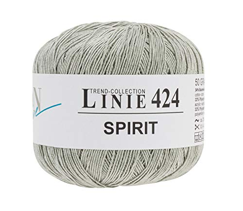 ONline Wolle Spirit, 4-fädig, 50g, ca. 210m Grau, Farbe 02