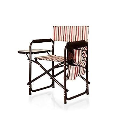 PICNIC TIME ONIVA - a Brand Portable Folding Sports Chair, Moka