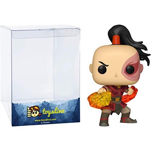 Funko Zuko: Avatar – The Last Airbender x POP! Figura de vinilo de animación & 1 POP! Compatible...