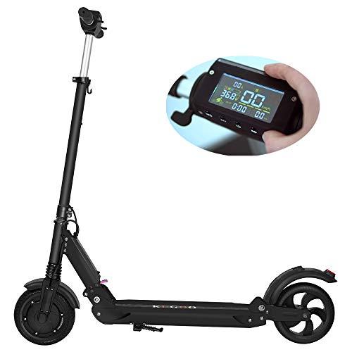 Blue-idea KUGOO S1 Elektro-Tretroller mit Display und LED-Leuchten, Gewicht nur 11kg