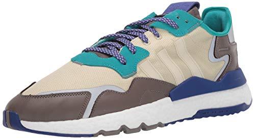 adidas Originals Men's NITE Jogger Hiking Shoe, St Desert Sand/St Desert Sand/Simple Brown, 8 M US