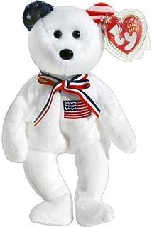 America 911 Memorial White Teddy Bear - Ty Beanie Babies