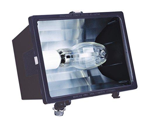 Lithonia Lighting F70ML 120 M6 70W Metal Halide Micro Floodlight with Bulb, Bronze