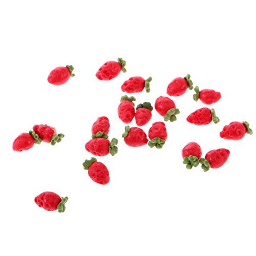 F Fityle 10 Pezzi di Frutta in Miniatura per La Decorazione della Casa delle Bambole in Scala 1:12 - #7