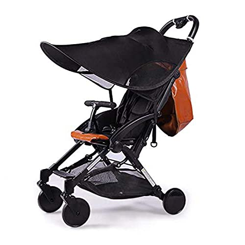 LIBRNTY Parasol para cochecito,Funda para cochecito de bebé, Sombrilla para cochecito,Toldo carrito bebe anti-UV, Universal y fácil de instalar,Diseño de la ventana+con Malla Transpirable