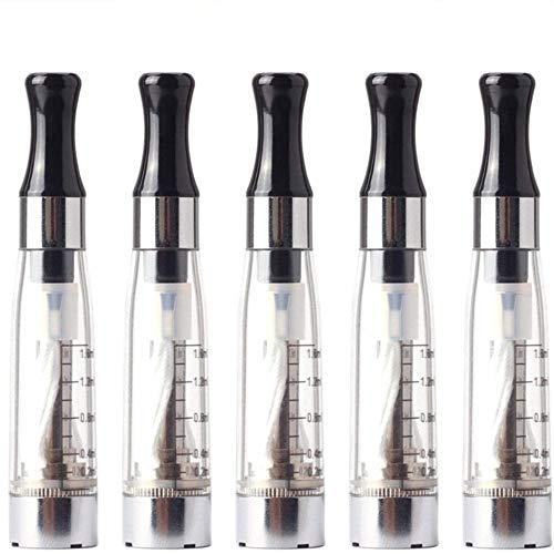 Perfectgoing 電子タバコ アトマイザー EGO 1.6ml CE4 互換 禁煙サポート 5本セット (透明)