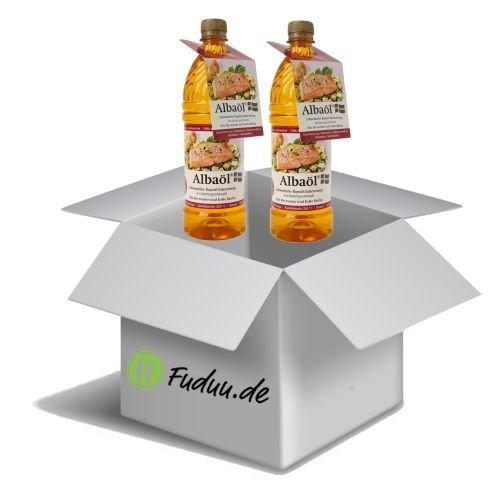 Albaöl - Rapsöl mit Buttergeschmack - 750ml im Fuduu-Spar-Set Menge 2 Flaschen