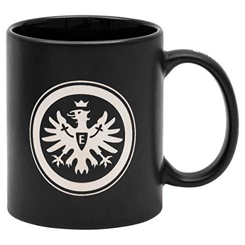 Eintracht Frankfurt Henkeldruck Tasse (one Size, schwarz)