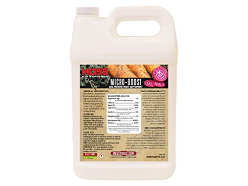 Micro-Boost Soil Micronutrient Supplement | Feed Your Garden Soil! | (Gallon)