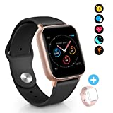 Orologio intelligente Fitness Tracker, Bluetooth Smartwatch Impermeabile con...